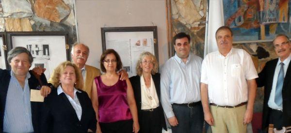 Συνεργασία του καθ. Ιατρικής Νίκου Γιαννουκάκη με το Ευρωπαϊκό Κέντρο Τέχνης