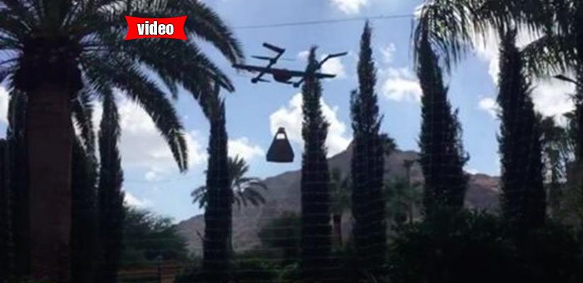 Βίντεο από τα πρώτα φτερουγίσματα του drone της Google