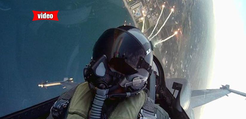 Το μήνυμα του ιπτάμενου σμηναγού μέσα από το F-16