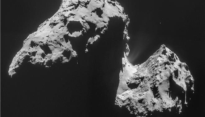 H Rosetta ανακάλυψε οξυγόνο στον κομήτη Τσούρι