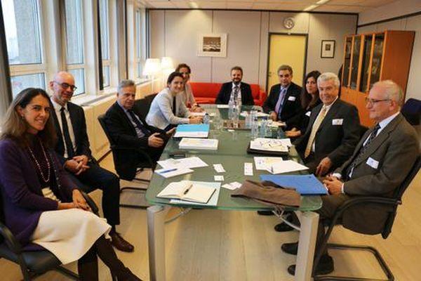 Σημαντικές συναντήσεις στις Βρυξέλλες του Μαν. Παναγιωτάκη