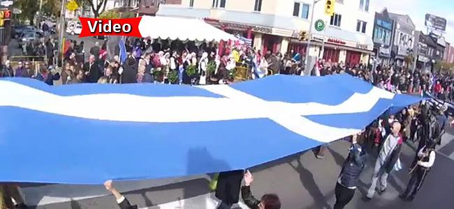 Παρέλαση για την Εθνική Επέτειο στο Τορόντο