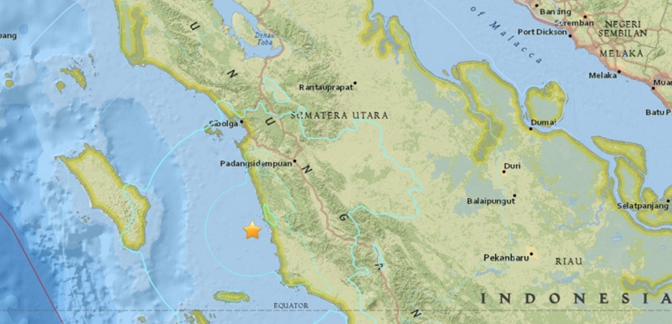 Σεισμός 6,1R στην Ινδονησία