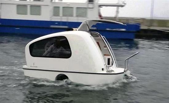 Sealander: Το νέο σκάφος-τροχόσπιτο