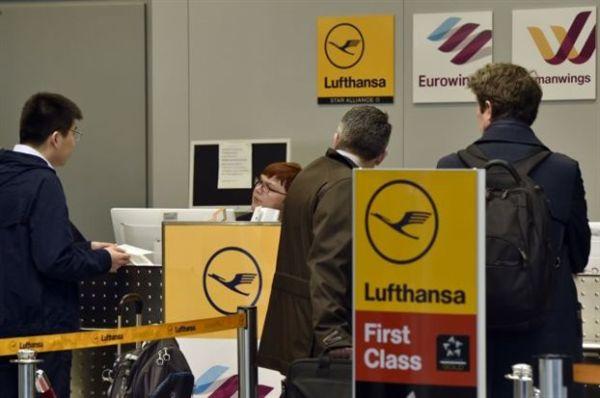 Η Lufthansa ακύρωσε 930 πτήσεις λόγω απεργίας των πληρωμάτων