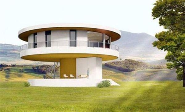 «Πράσινο» σπίτι... ακολουθεί τον ήλιο