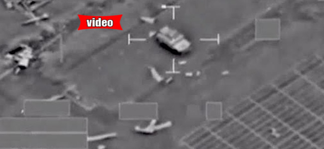 Αεροπορικοί βομβαρδισμοί της Γαλλίας στη Συρία