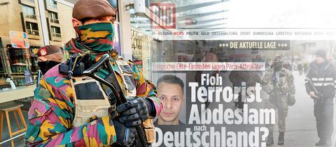 Θρίλερ με τον τζιχαντιστή Αμπντεσλάμ-Φήμες για διαφυγή του στη Γερμανία