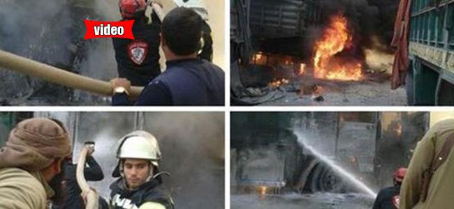 Ρωσικά μαχητικά χτύπησαν τουρκικό κομβόι στη συριακή μεθόριο
