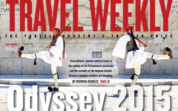 Η Ελλάδα κεντρικό θέμα στο αμερικανικό Travel Weekly