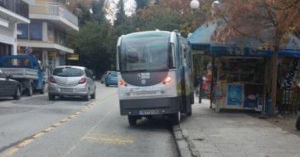 Βγήκε εκτός πορείας το λεωφορείο χωρίς οδηγό
