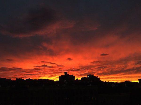 Μαγευτικά ηλιοβασιλέματα από τη Νέα Υόρκη!