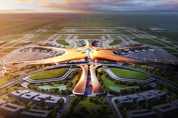 Το μεγαλύτερο αεροδρόμιο στον κόσμο ετοιμάζεται στο Πεκίνο!