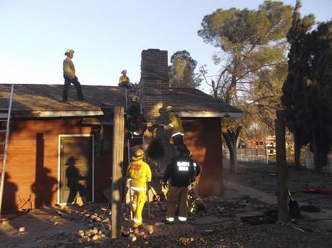 ΗΠΑ: Διαρρήκτης κάηκε ζωντανός μέσα σε καμινάδα