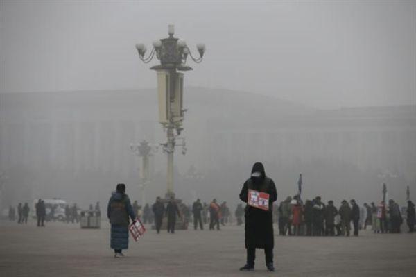 Σε πορτοκαλί συναγερμό λόγω ρύπανσης για τρίτη μέρα το Πεκίνο