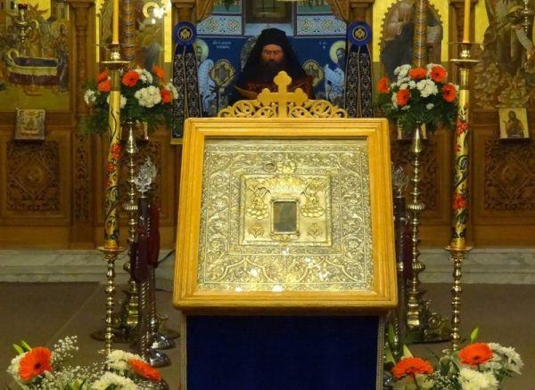 Στο Ναό της Αγίας Βαρβάρας η Παναγία Ολυμπιώτισσα