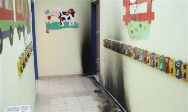 Λάρισα: Συλλήψεις για την επίθεση με μολότοφ σε δημοτικό παιδικό σταθμό