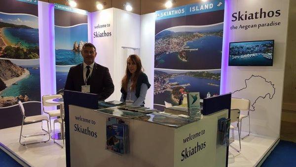 Διεθνής προβολή της Σκιάθου Το νησί συμμετείχε στην Greek Tourism Expo