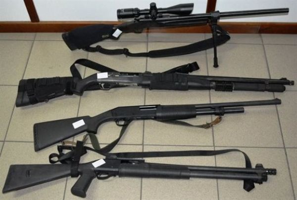 Συνελήφθη 49χρονος για λαθρεμπόριο όπλων