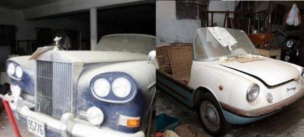 «Κινητά μνημεία» τα οχήματα του τέως που σαπίζουν στο Τατόι