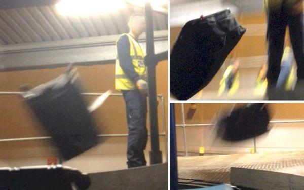 Έτσι πετούν τις βαλίτσες σας στο αεροδρόμιο Λούτον του Λονδίνου