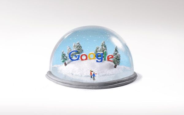 Η Google τιμά το χειμερινό ηλιοστάσιο