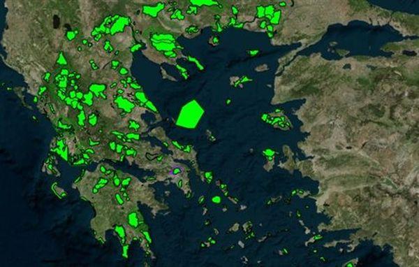 Αναβαθμίστηκε η υπηρεσία γεωχωρικών δεδομένων geodata.gov.gr