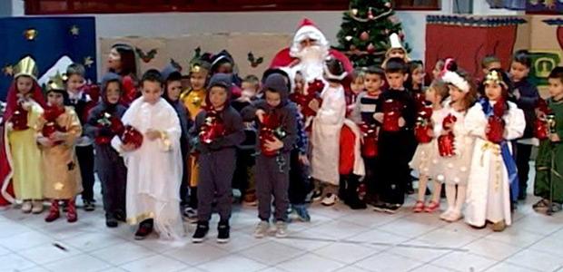 Χριστουγεννιάτικη γιορτή από το 4ο Νηπιαγωγείο Ν. Ιωνίας