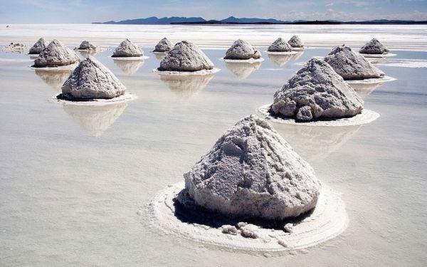 Η μεγαλύτερη αλατο-λίμνη του κόσμου