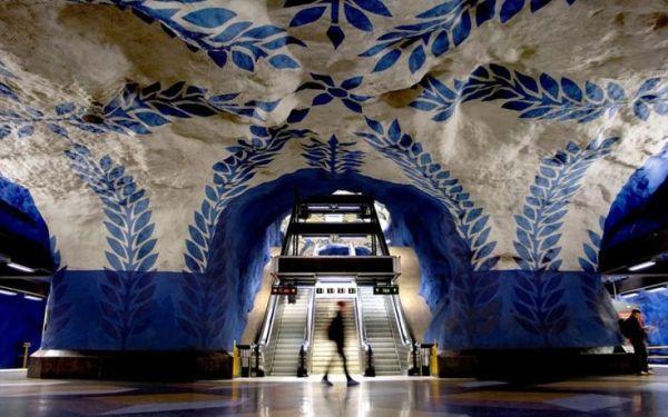Το πιο όμορφο μετρό της Ευρώπης