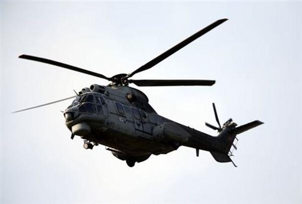 Τουρκικό ελικόπτερο πάνω από τη βραχονησίδα Ζουράφα
