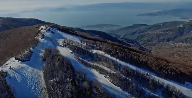 Πετώντας πάνω από το βουνό των Κενταύρων (βίντεο)