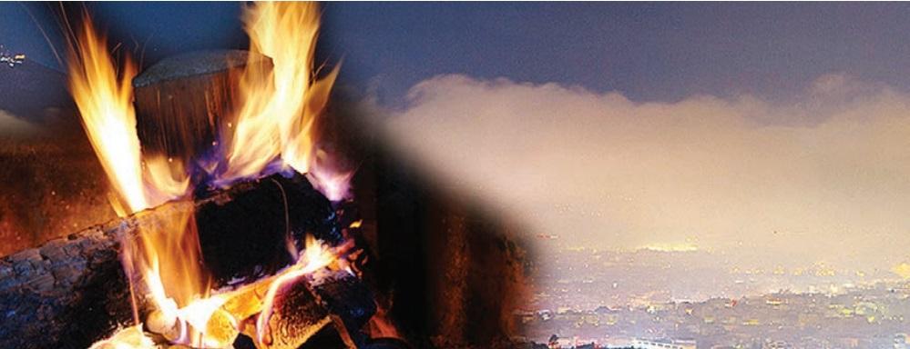 Περιορισμό σε καύση ξύλων