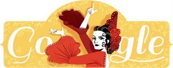 Αφιερωμένο στη Lola Flores το doodle της Google