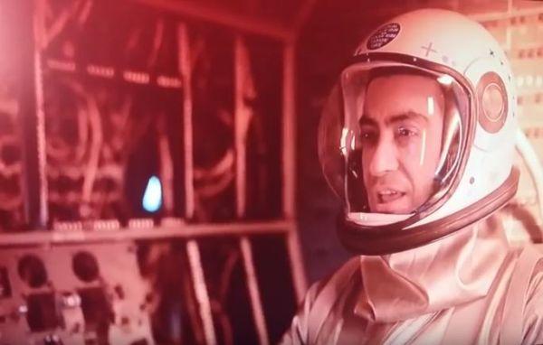 Ο Διονύσης Σχοινάς... αστροναύτης