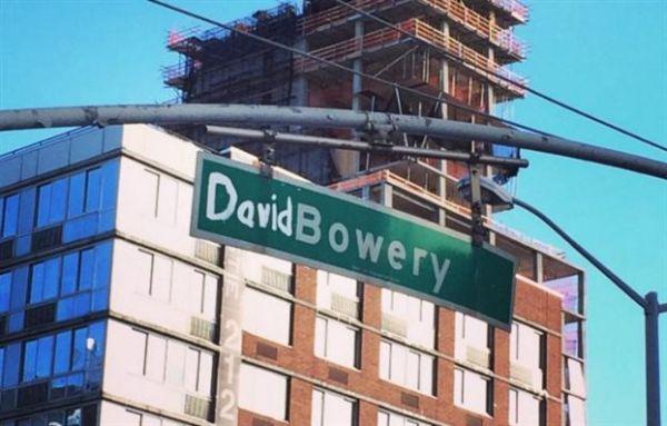 Και ξαφνικά, η Νέα Υόρκη απέκτησε οδό Ντέιβιντ Μπόουι