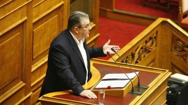 Κουτσούμπας: Η κυβέρνηση ΣΥΡΙΖΑ ολοκληρώνει τη βρώμικη δουλειά στο ασφαλιστικό