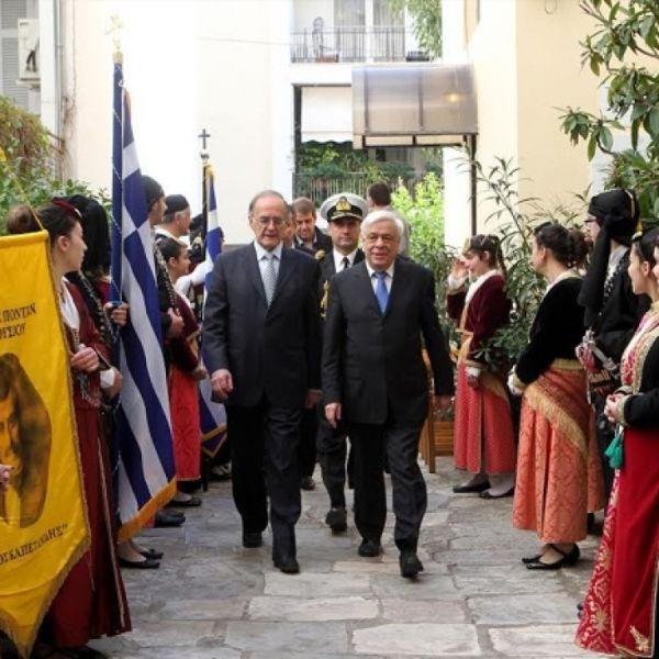 Γ. Σούρλας: Η καρδιά του Αλ. Υψηλάντη «χτυπάει στην Αθήνα