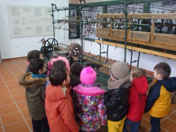 Επίσκεψη στο Μουσείο του Μεταξουργείου