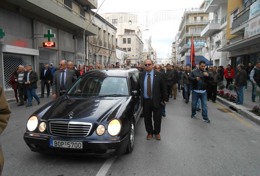 Η Ένωση Λειτουργών Γραφείων Κηδειών Ελλάδος συμμετείχε στην απεργία
