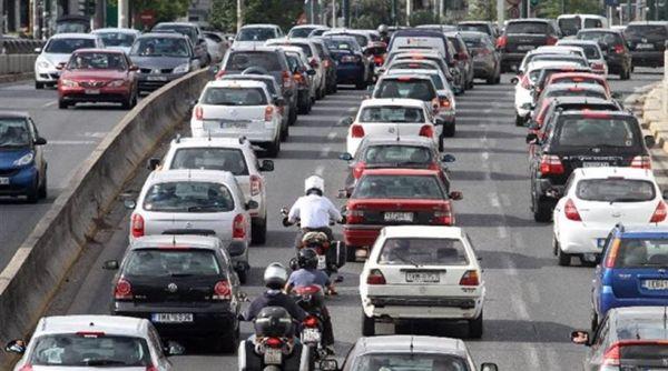 Αύξηση στην κυκλοφορία αυτοκινήτων τον Ιανουάριο