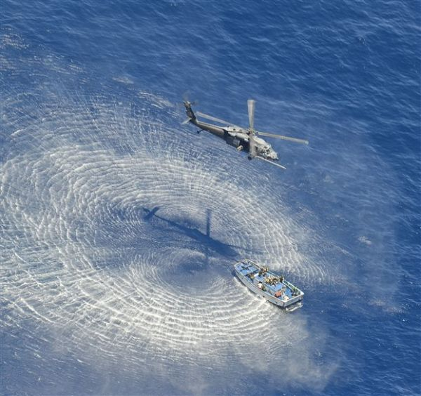 Αγνοείται ελικόπτερο του Πολεμικού Ναυτικού στο Αιγαίο