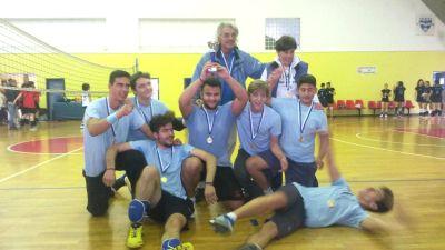 Νίκη της ομάδας βόλεϊ αγοριών του Μουσικού Σχολείου Βόλου