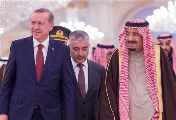 Ερντογάν και σαουδάραβας βασιλιάς συνομίλησαν για το Συριακό