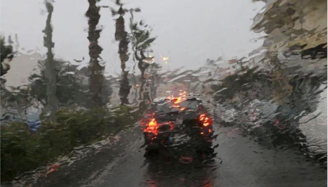 Επιδείνωση του καιρού με βροχές, χαλάζι & ισχυρούς ανέμους
