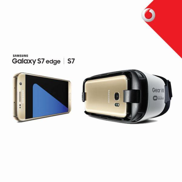 Τα νέα Samsung Galaxy S7 edge και S7 έρχονται στη Vodafone!