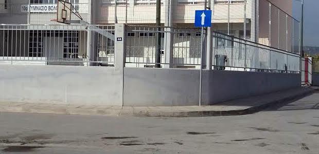 Επιτέλους πεζοδρόμια στην οδό Διμηνίου
