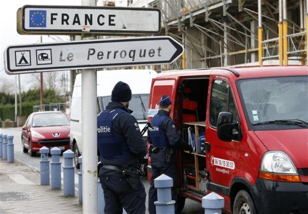 Το Βέλγιο εντατικοποιεί τους συνοριακούς ελέγχους