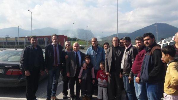 Ο Δικηγορικός Σύλλογος Βόλου διένειμε τρόφιμα στους πρόσφυγες