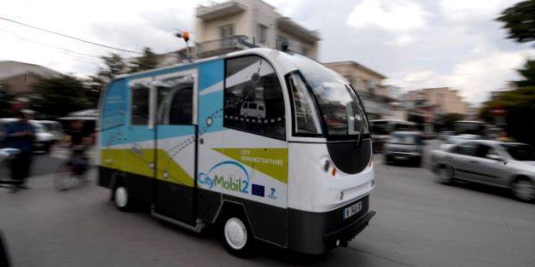 Τρίκαλα: το Λεωφορείο χωρίς οδηγό αφήνει πίσω του ποδηλατόδρομο μήκους 2,6χλμ